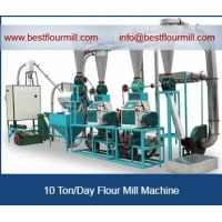 Wholesale 10 ton stone mill flour machine from china suppliers
