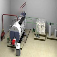China Low pressure Industrial Horizontal Type Oil & Gas Fired Steam Boiler for swimming pool,hospital,school, on sale