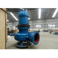 China 75kw 100hp Submersible Sewage Pump 3 Phase 50hz / 60hz IP68 Protection on sale