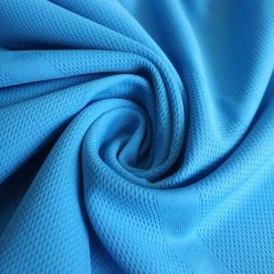 100% polyester dry fit fabric for 2015 fashion sportswear & bird eye mesh fabric