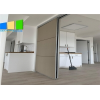 Wholesale Soft Cover Folding Sliding Operable Partition Walls Acoustic Conference Room Dividers from china suppliers