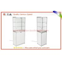 Wholesale Aluminum Glass Display Cabinets Lockable , glass counter display from china suppliers