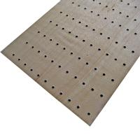 Wholesale Wooden Soundproof Perforated Wood Wall Panels For Conference Room from china suppliers