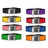 Wholesale Medical silicone qr bracelet /id bracelet /silicone wristbands from china suppliers