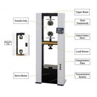 Tensile Strength Testers : Leather tensile strength test machine