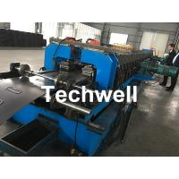 Wholesale 1.5-2.5mm Carbon Steel Cable Tray Roll Forming Machine With 5 Ton Hydraulic Uncoiler from china suppliers