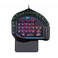 Single Hand Mechanical Gaming Keyboard 60 Keys AULA SI-881 Wing Of Liberty