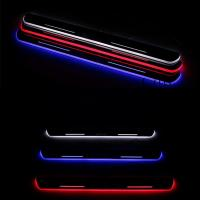 Wholesale auto accessories led door sill moving scuff plate door sill plate for peugeot 508 308 307 from china suppliers
