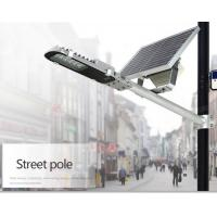 Wholesale Energy Saving 3300lm Solar Based Led Street Lights 20W Toughened Glass Material from china suppliers
