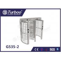 Wholesale Pedestrian Full Height Turnstile High Revolving Door Running Stably Without Noise from china suppliers