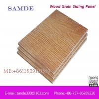 Bathroom wall cladding b q popular bathroom wall for Wood grain siding panels