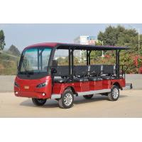 Wholesale Red Electric Sightseeing Cart For 14 Passengers CE Certificate / Mini Golf Buggy from china suppliers