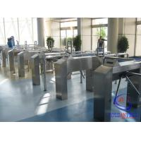 Wholesale Qr Code Barcode Waist Height Turnstile For Stadium/Gym/Cinema/Scenic Area from china suppliers