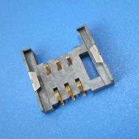 Wholesale 6P SIM Card Connector , Full LCP Plastic SMT Type WIth Locking from china suppliers