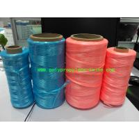 UV Treated High Tenacity Polypropylene Twine , Poly Baler Twine  Blue Red Color Manufactures