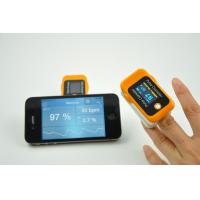 China OLED Screen Handheld Finger Portable Pulse Oximeter With Bluetooth on sale