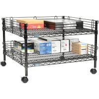 Wholesale Standard Size Mobile Rack Unit / Lightweight Office Table Shelving from china suppliers