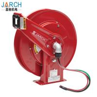 Buy cheap JARCH Bare Ethernet Cable Compact Hose Reel , Power Cord Reels 4 Conductors from wholesalers