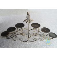 Quality CH-30-2 etched Acrylic hurricane candle holders for sale