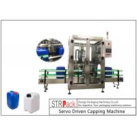 Wholesale 5L - 25L Plastic Drum Bottle Capping Machine With Full Automatic Single Head 750pcs / Hour from china suppliers