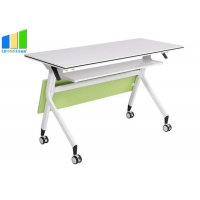 Buy cheap Office Furniture Partitions Folding Desk Foldable Training Table Stackable from wholesalers