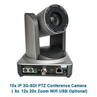 All-In-One HD Video and Audio Conferencing System 1080p 10x Optical Zoom PTZ Camera and Speakerphone