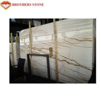 Wholesale Unmagnetized Sofitel Gold Marble Stone Slab For Interior Wall Cladding from china suppliers