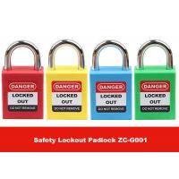 Wholesale 25mm Short Steel Master Key Safety Lockout Tagout with English PVC Luminous Tag from china suppliers
