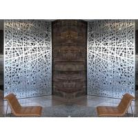 Buy cheap Relief Decorative Metal Screen Panels Different Textures / Colors For Different from wholesalers
