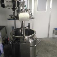 Wholesale 100L Vegan Gelatin Stainless Steel Tank With Stirring Function And Vacuum Pump from china suppliers