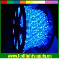China 2 wire rope light spools blue ultra thin led christmas lights on sale