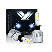 Wholesale DC 12-24V Led Auto Headlight Bulbs S2 H1 18W 6000K 1800LM IP65 2 COB 2 Years Warranty from china suppliers
