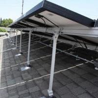 China Roof top racking for solar product on sale