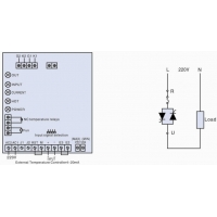 11KW 57.5A Thyristor Controller For Heater 0
