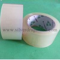 China Cristal clear BOPP packing tape size 48mm x 50m on sale