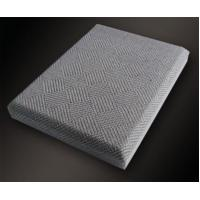 Wholesale Chamfer Angle Insulation Acoustic Fabric Panels / Wall Covering Board from china suppliers