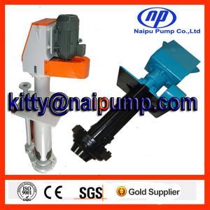 China 40PV-SP Metal liner vertical slurry pump on sale