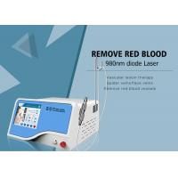 China Fiber 1 - 100ms Adjustable 30W 980 nm Diode Laser Veins Removal Machine on sale