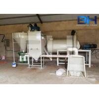 Wholesale Tile Glue / Wall Putty Mixing Machine , Simple Dry Mix Mortar Production Line from china suppliers