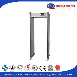 Buy cheap IP67 Waterproof walk through security gate , airport metal detector Door with 33 detecting zones product