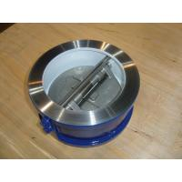 Wholesale ISO&CE certificate OEM Dual Wafer Check valve 150# for Waterworks Purpose from china suppliers