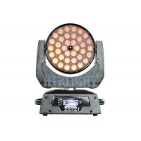Buy cheap 36*10W RGBW 4 In1 LED Wash Moving Head Zoom Light With Electronic Focusing from wholesalers