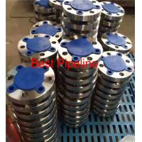 Wholesale ASME B16.47 Large Diameter Forged Weld Neck Flange  Blind Class 300 Series A 2ASTM A 105 from china suppliers