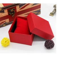 Wholesale wholesale custom printed rigid cardboard gift box for jewelry watch box top and bottom packing boxes for bracelet from china suppliers