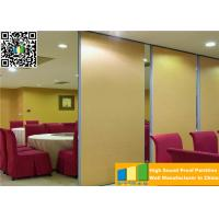 Wholesale Customized Wooden Acoustic Movable Partition Walls For Artgallery / Office from china suppliers