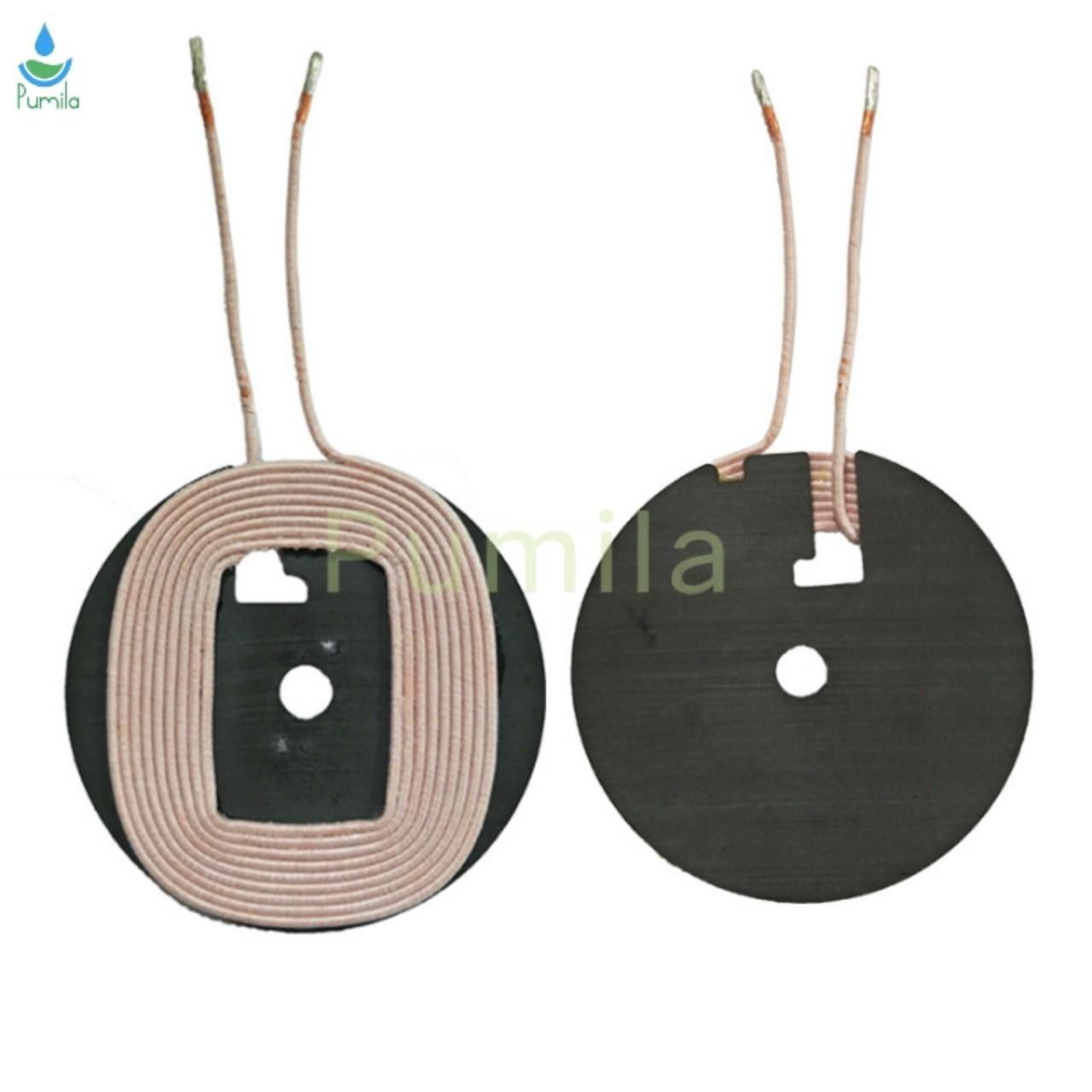 Copper Wire Winding coil QI wireless charger coil A11 with Ferrite for sale
