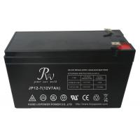 Wholesale Valve Regulated Sealed Lead Acid Battery 12V 7Ah For Solar Power / Telecom System from china suppliers