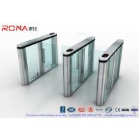Wholesale Slim Speed Gate Turnstile , Access Management Automatic Swing Gates with consumption system from china suppliers