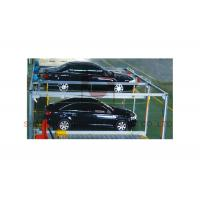 China Heavy Duty Car Lift Systems Vertical Horizonal Parking System With Steel Structure on sale