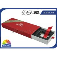 China Cosmetics Packaging Paper Sleeve Box / Paper Slide Box SGS FSC Approvals on sale